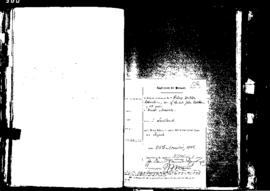 Passport Application of Robertson Robert Wilton