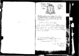 Passport Application of Portelli Giuseppe