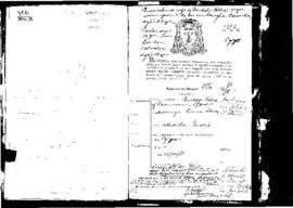 Passport Application of Vella Giuseppe