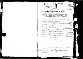 Passport Application of Pirata Giovanni