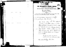Passport Application of Audibert Enerico