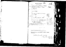 Passport Application of Camilleri Gio Battista