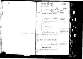 Passport Application of Cioffi Filomena