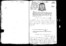 Passport Application of Spiteri Francesca