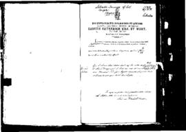 Passport Application of Formosa Salvatore