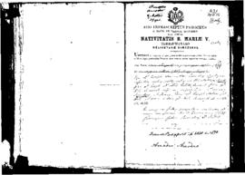 Passport Application of Amadeo Amodeo