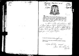 Passport Application of Aquilina Francesco