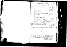 Passport Application of Boa Peter John