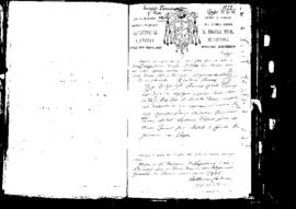 Passport Application of Fiorentino Giuseppe