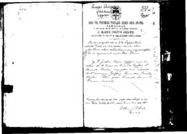 Passport Application of Sciortino Giuseppe