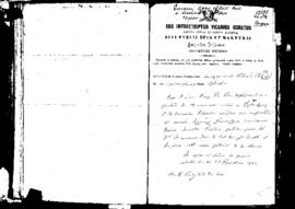 Passport Application of Agius Giovanni