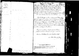 Passport Application of Cauchi Paolo