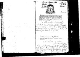 Passport Application of Spiteri Giuseppe