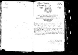 Passport Application of Catania Alfonso
