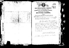Passport Application of Bonnici Antonio