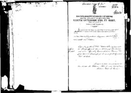 Passport Application of Agius Amabile