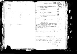 Passport Application of Bonnici Giuseppe