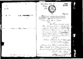 Passport Application of Vella Gio Maria