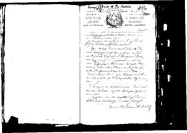 Passport Application of Colombo Vincenzo